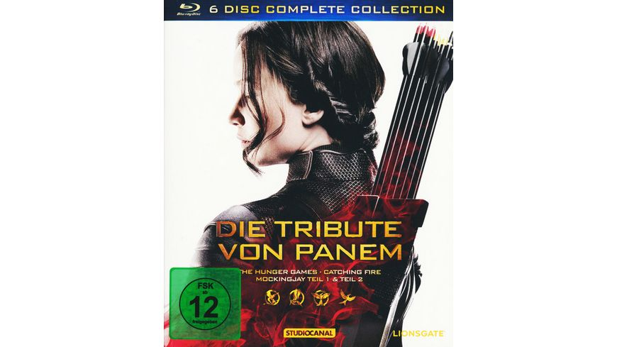 Die Tribute von Panem - Complete Collection  [4 BRs+ 2 Blu-ray 3Ds]