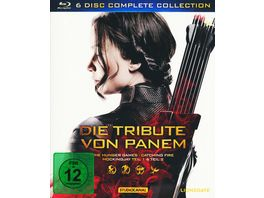 Die Tribute von Panem Complete Collection 4 BRs 2 Blu ray 3Ds