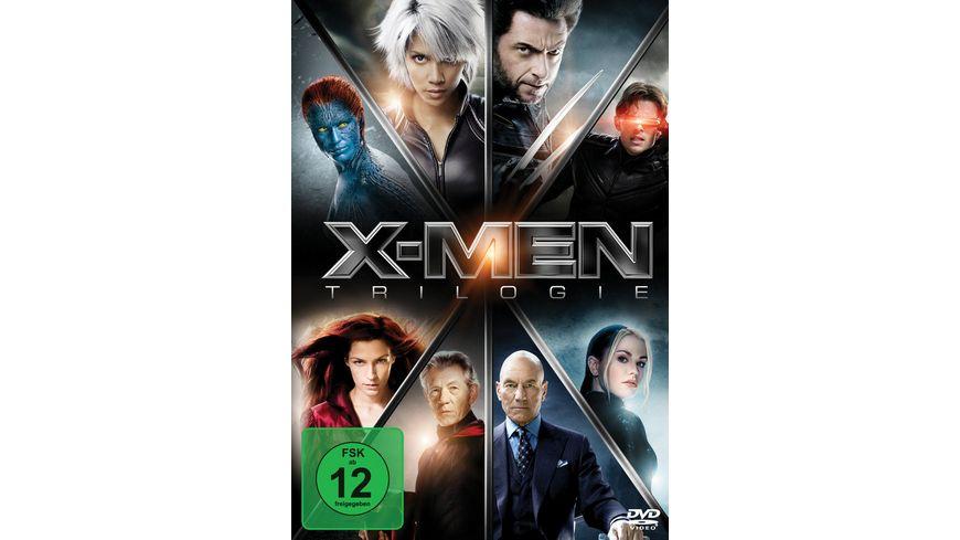 X Men Trilogie 3 DVDs