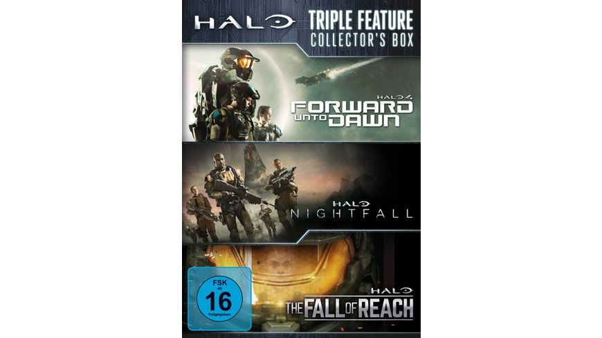 HALO Triple Feature Collector s Box 3 DVDs