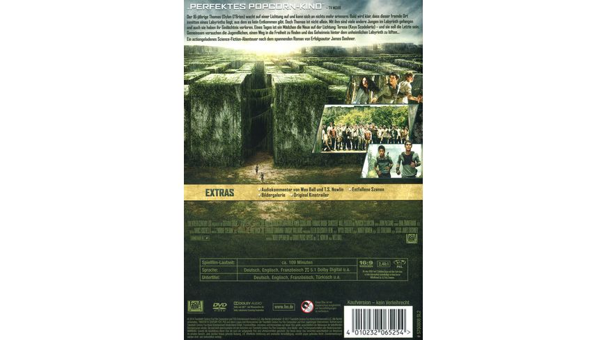 Maze Runner Die Auserwaehlten im Labyrinth