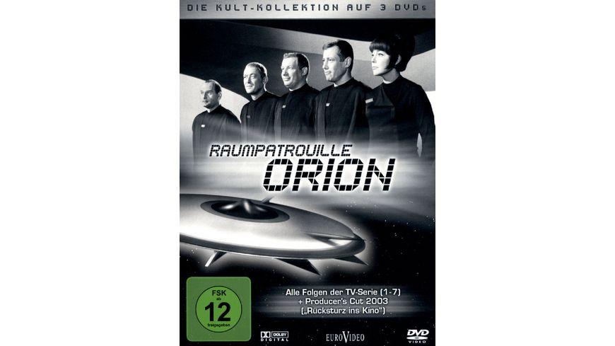 Raumpatrouille Orion Kult Kollektion 3 DVDs