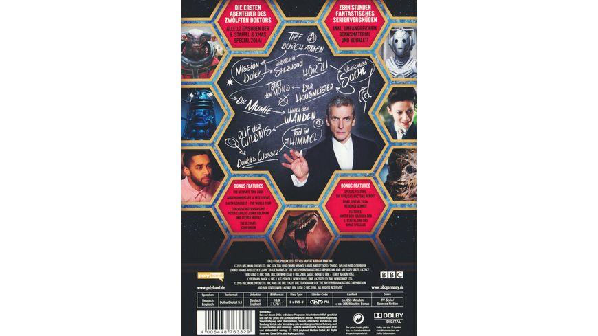 Doctor Who Die komplette 8 Staffel 6 DVDs