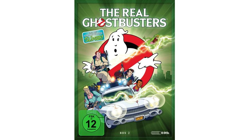 The Real Ghostbusters Box 2 Folgen 79 134 10 DVDs