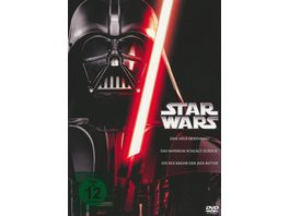 Star Wars Trilogie 4 6 3 DVDs