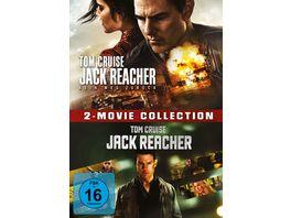 Jack Reacher Jack Reacher Kein Weg zurueck 2 Movie Collection 2 DVDs