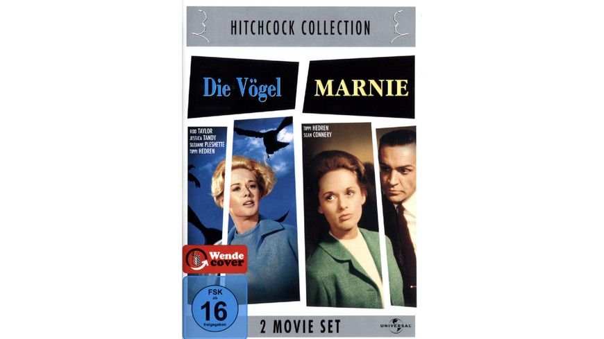 Hitchcock Collection Die Voegel Marnie 2 DVDs
