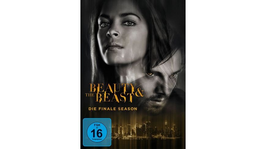 Beauty and the Beast Season 4 4 DVDs