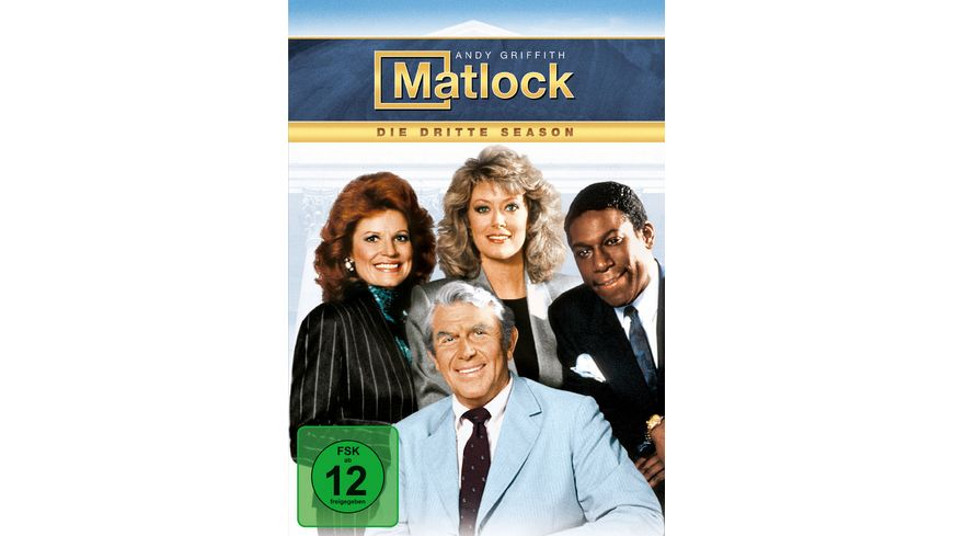 Matlock Season 3 5 DVDs