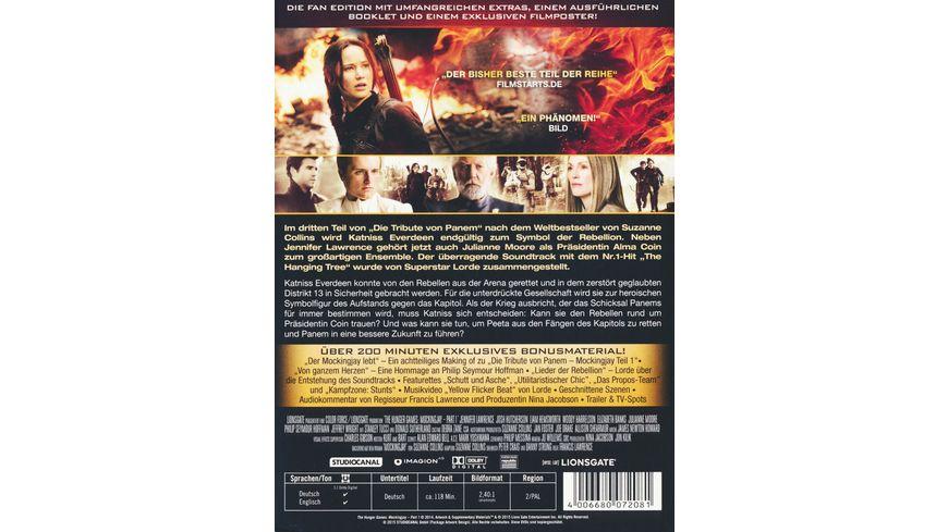 Die Tribute von Panem Mockingjay 1 2 DVDs