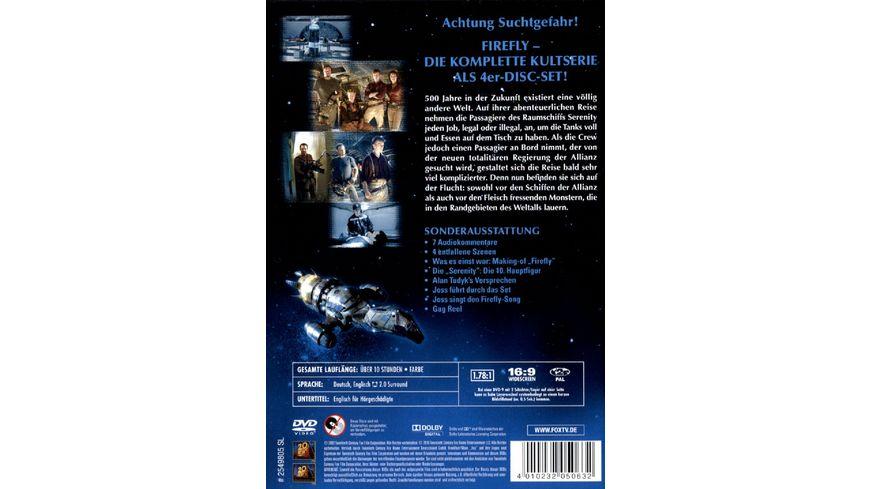 Firefly Die komplette Serie 4 DVDs