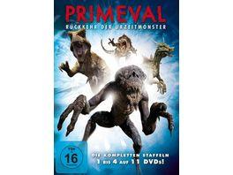 Primeval Rueckkehr der Urzeitmonster Staffel 1 4 Box Set 11 DVDs