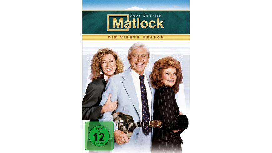 Matlock Season 4 6 DVDs