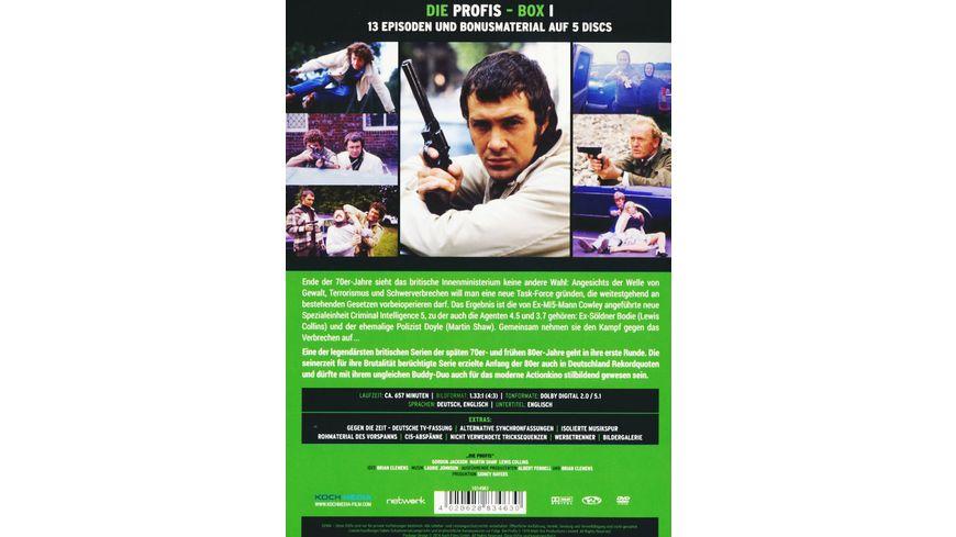 Die Profis Box 1 5 DVDs