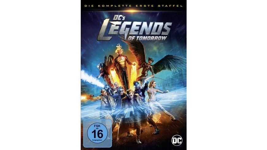 DC s Legends of Tomorrow Die komplette 1 Staffel 4 DVDs