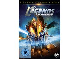 DC s Legends of Tomorrow Die komplette 1 Staffel 4 DVDs