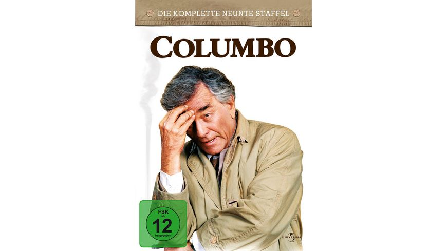 Columbo Season 9 5 DVDs