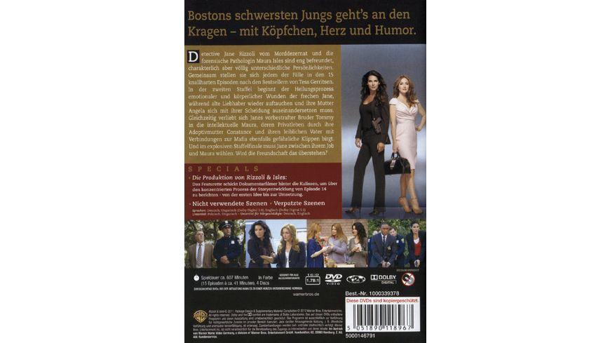 Rizzoli Isles Staffel 2 4 DVDs