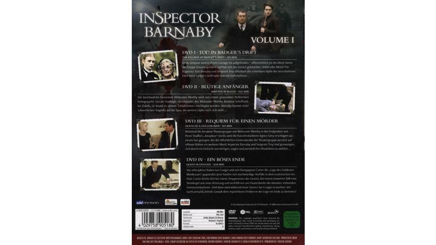 Inspector Barnaby Vol 1 4 DVDs
