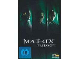 Matrix Trilogy 3 DVDs