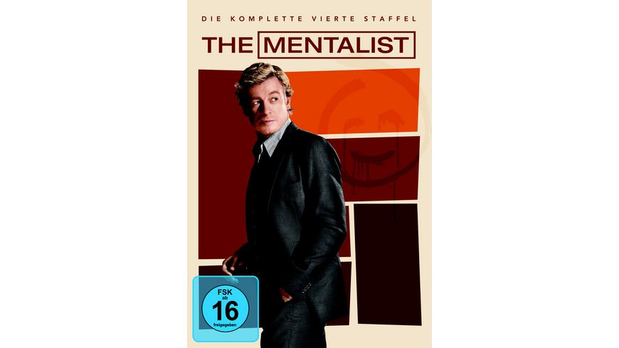 The Mentalist Staffel 4 5 DVDs
