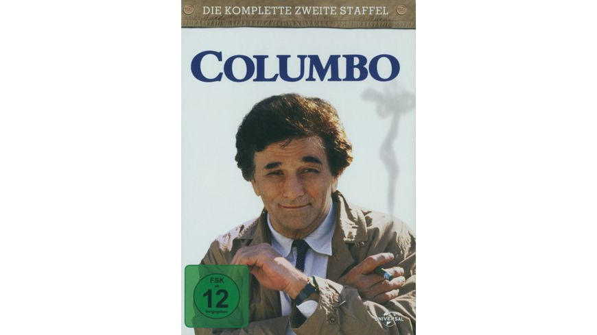 Columbo Season 2 4 DVDs