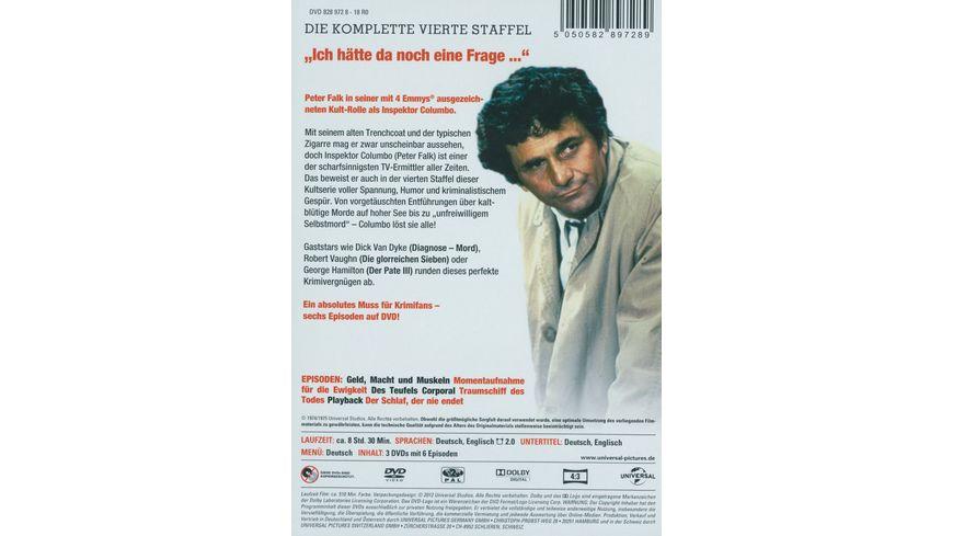 Columbo Season 4 3 DVDs