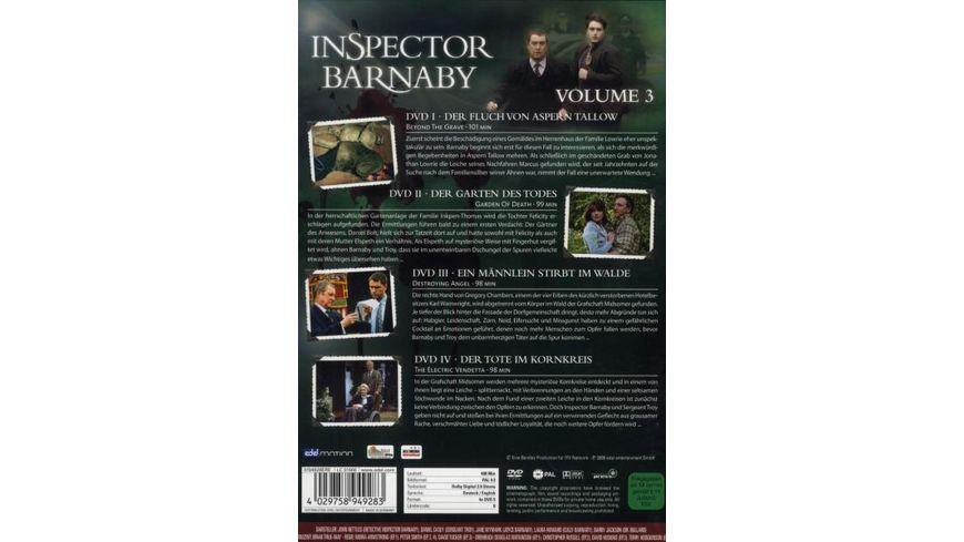 Inspector Barnaby Vol 3 4 DVDs