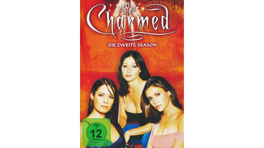 Charmed Season 2 6 DVDs