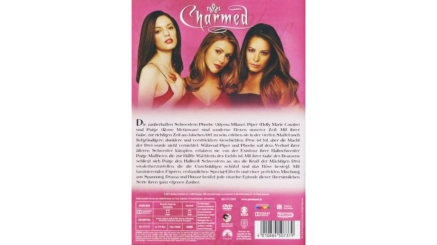 Charmed Season 4 6 DVDs