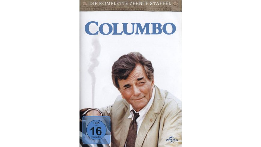 Columbo Season 10 4 DVDs