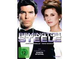 Remington Steele Die komplette zweite Staffel 7 DVDs