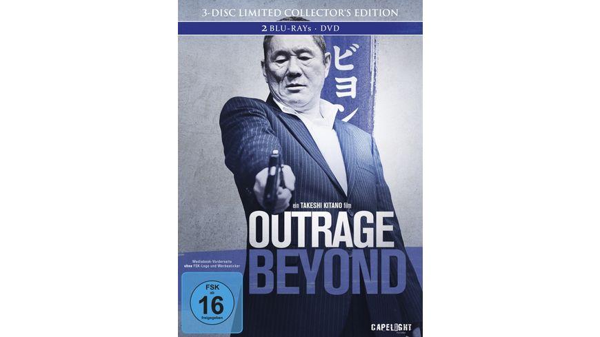 Outrage Beyond LCE DVD Bonus BR Mediabook