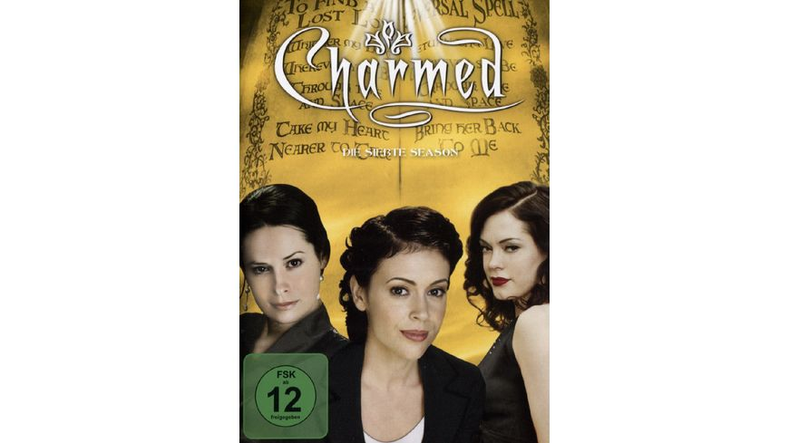 Charmed Season 7 6 DVDs