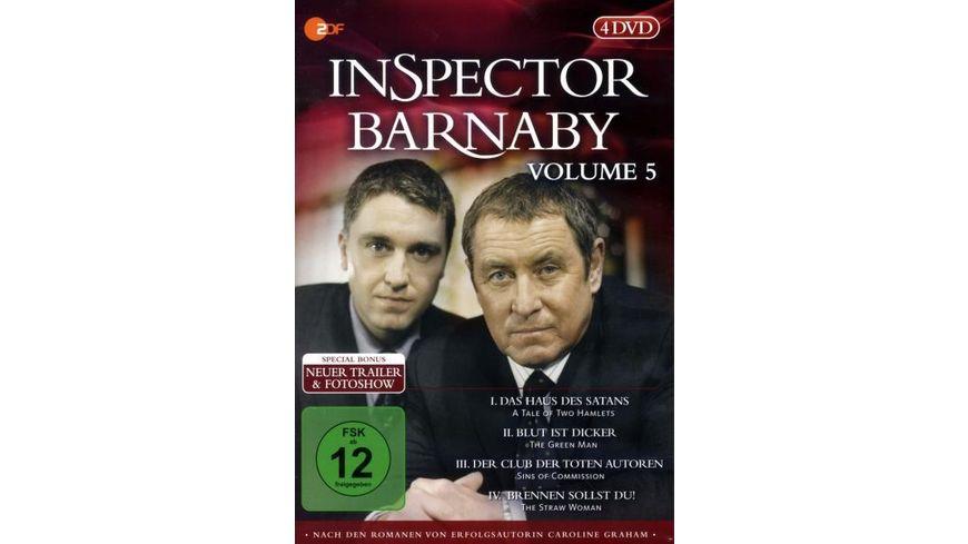 Inspector Barnaby Vol 5 4 DVDs