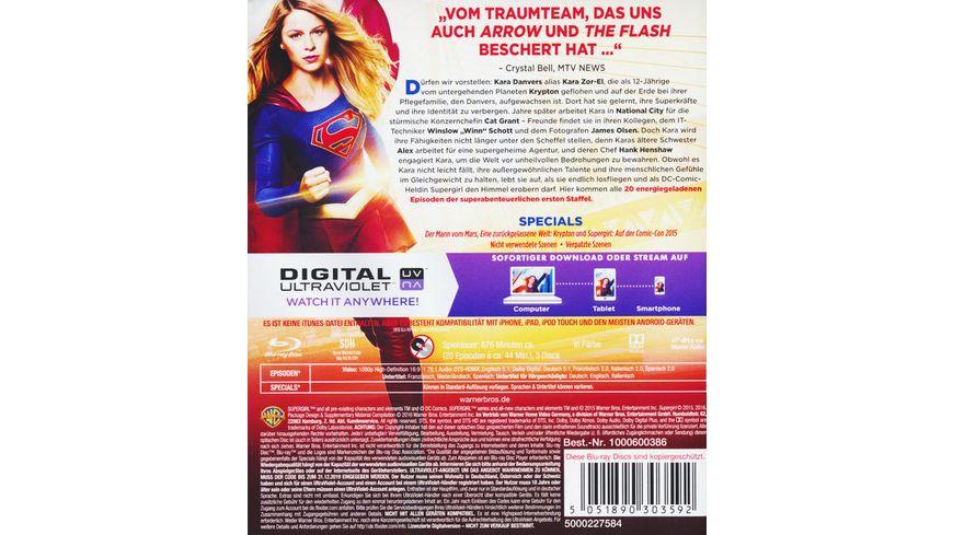 Supergirl Die komplette 1 Staffel 3 BRs