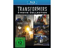 Transformers 1 4 Collection 4 BRs