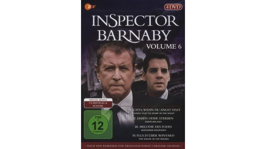 Inspector Barnaby Vol 6 4 DVDs