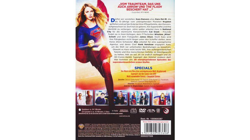 Supergirl Die komplette 1 Staffel 5 DVDs