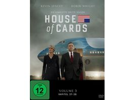 House of Cards Season 3 4 DVDs