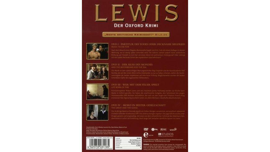 Lewis Der Oxford Krimi Staffel 2 4 DVDs