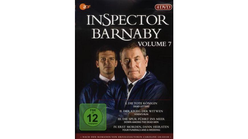 Inspector Barnaby Vol 7 4 DVDs
