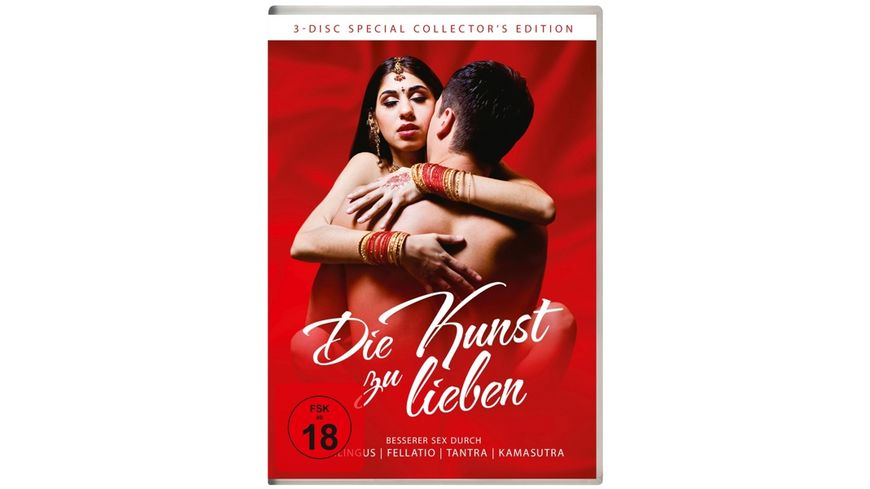 Die Kunst zu lieben besserer Sex 3 DVDs