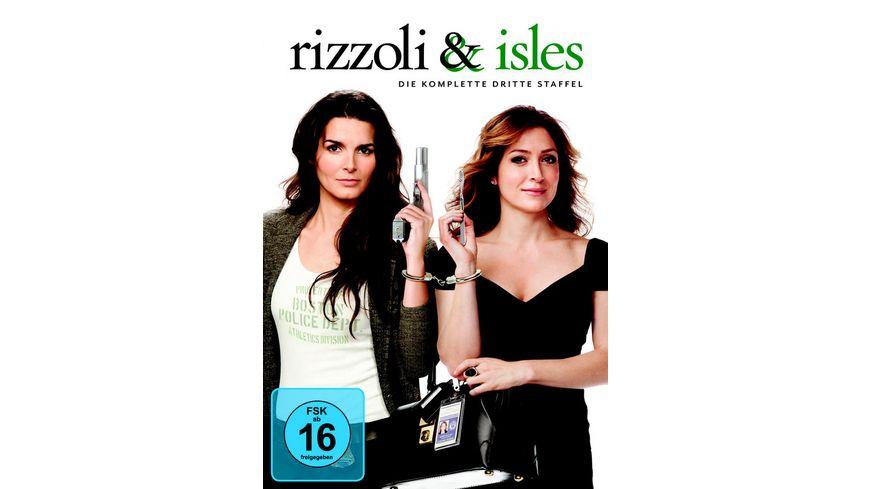 Rizzoli Isles Staffel 3 3 DVDs