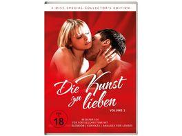 Die Kunst zu lieben Vol 2 Besserer Sex Fuer Fortgeschrittene 3 DVDs