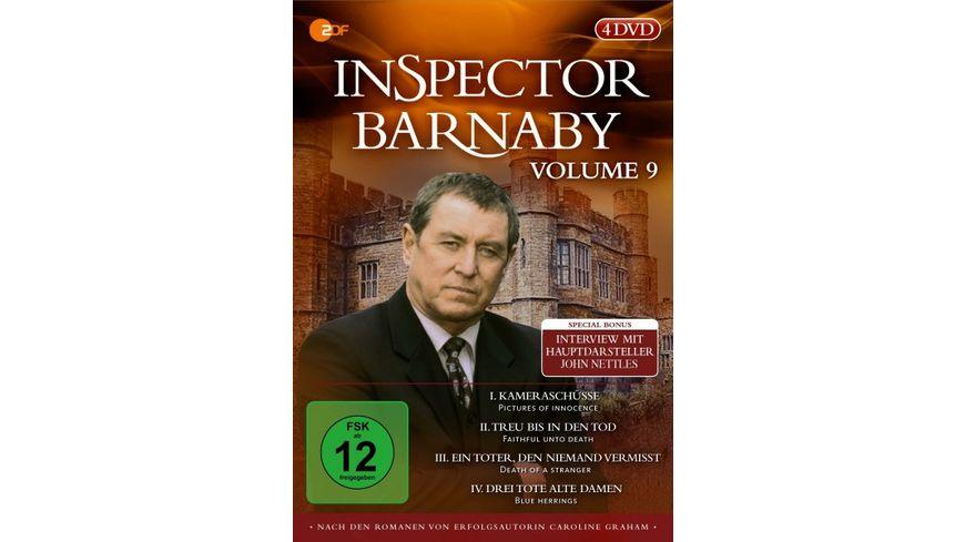 Inspector Barnaby Vol 9 4 DVDs