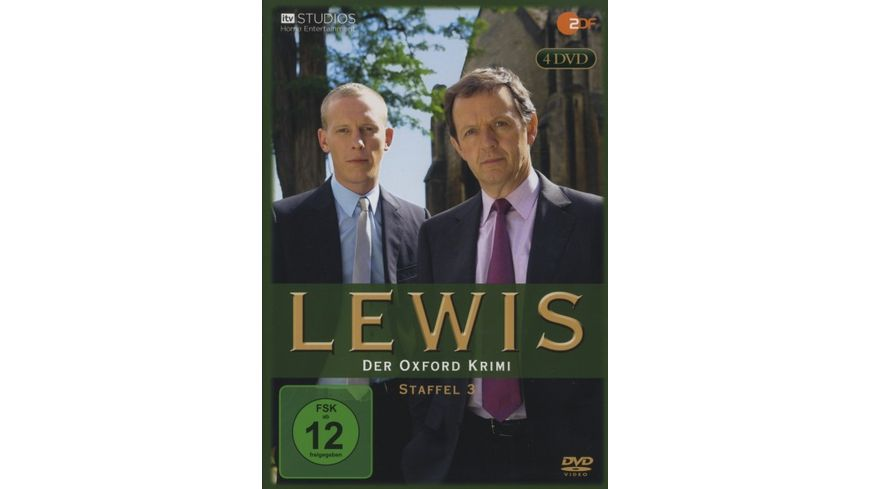 Lewis Der Oxford Krimi Staffel 3 4 DVDs