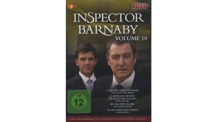 Inspector Barnaby Vol 10 4 DVDs