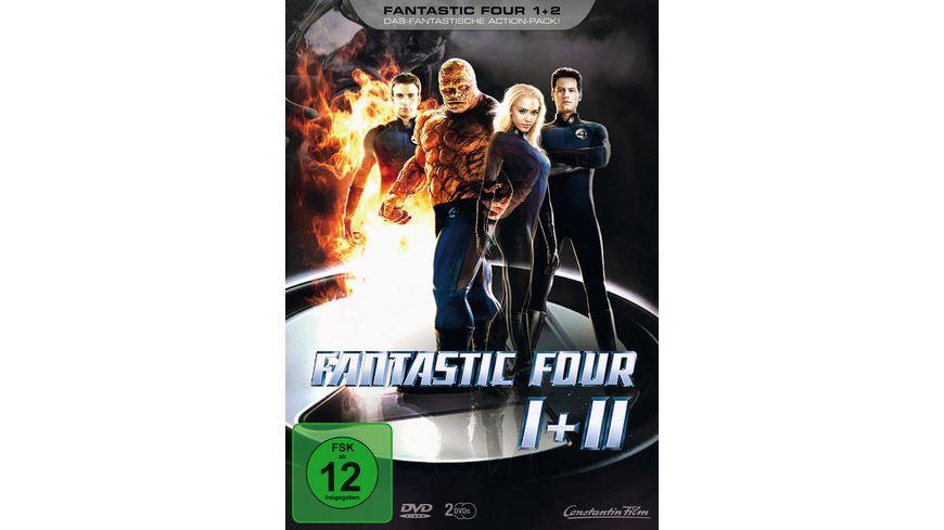 Fantastic Four Teil 1 2 2 DVDs Limited Edition