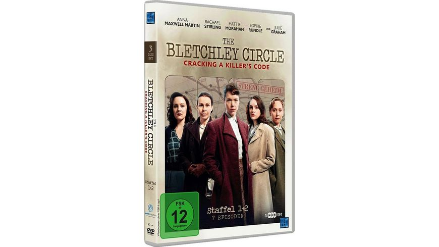 The Bletchley Circle Staffel 1 2 3 DVDs
